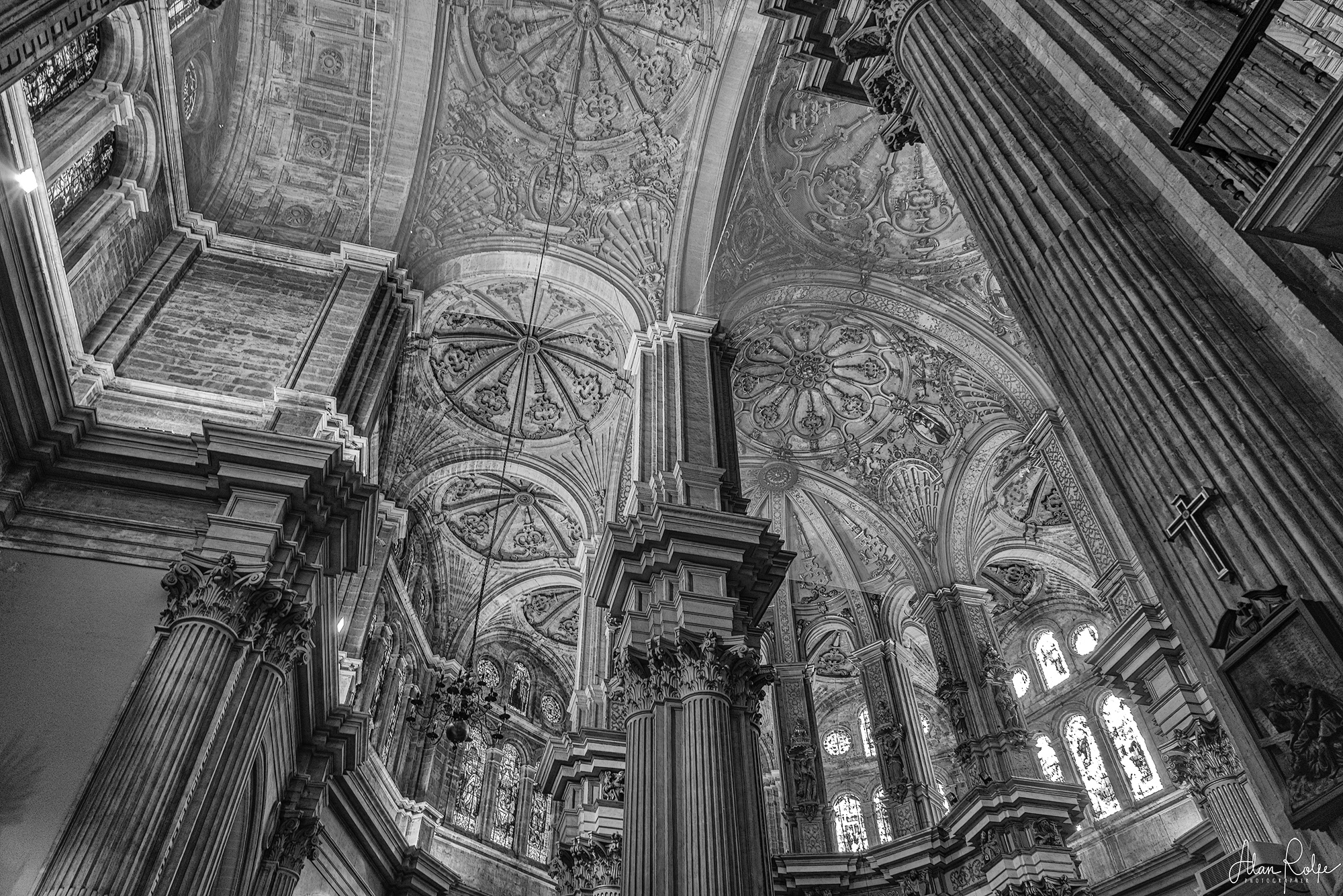 Malaga Cathedral ceiling