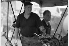 Steamroller crew