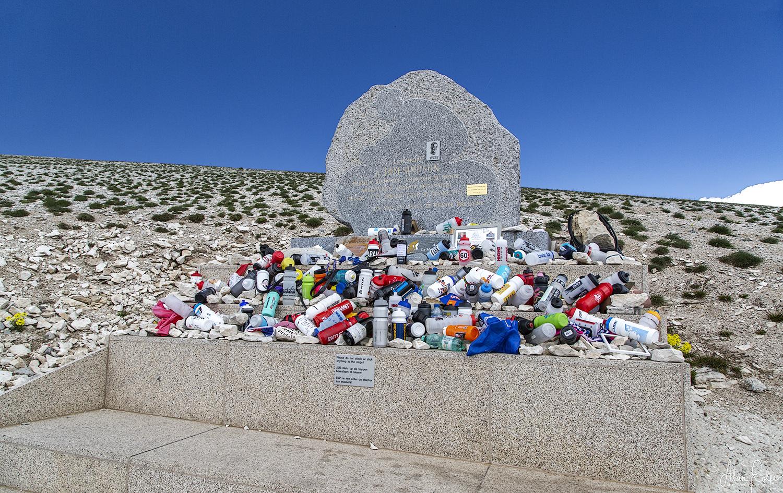Tom Simpson memorial, Mt. Ventoux