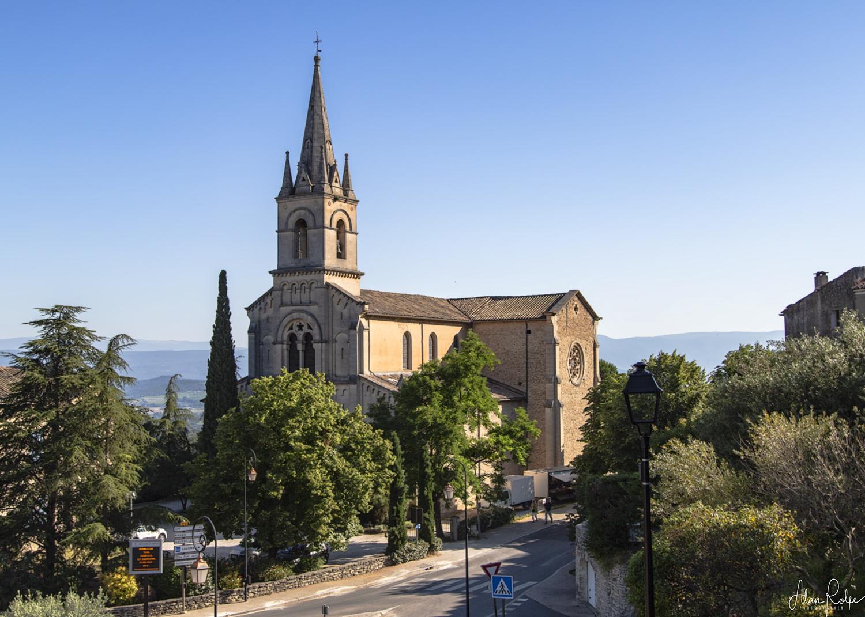 Bonnieux church